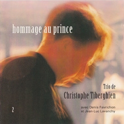 CD Hommage au prince - Christophe Tiberghien